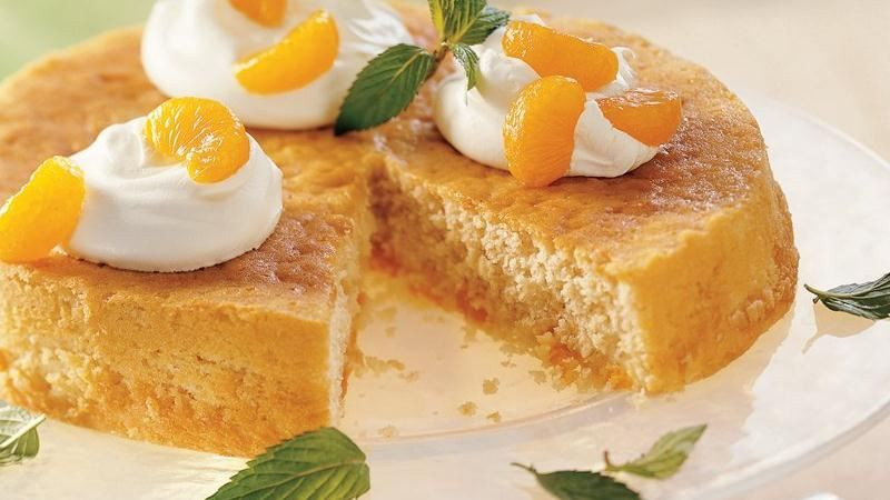 Mandarin Orange Cake recipe from Betty Crocker