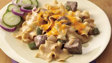 Philly Cheesesteak Casserole (Cooking for Two))