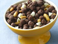 Chocolate Lover's Peanut Butter Snack Mix