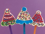 Birthday Party Cookie Pops