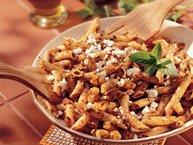 Mostaccioli with Sun-Dried Tomato Pesto