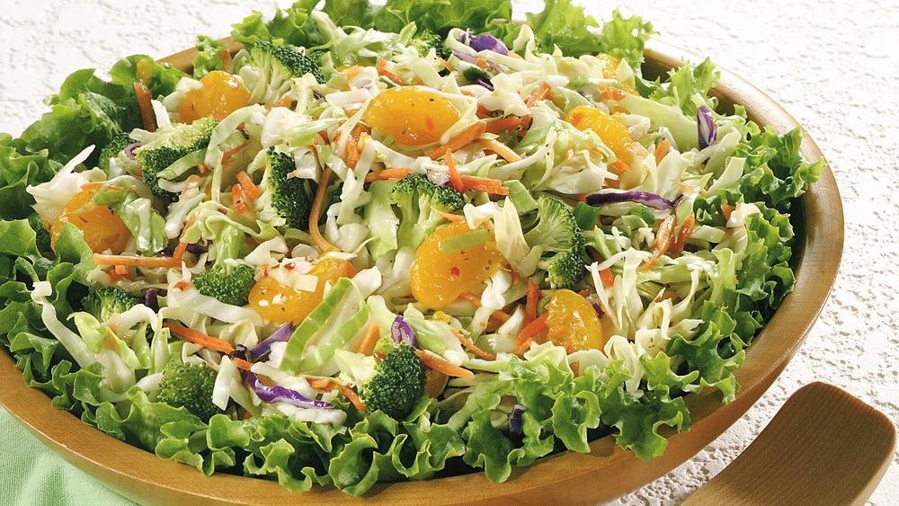 Zesty Vegetable Coleslaw