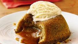 Molten Dulce de Leche Cakes
