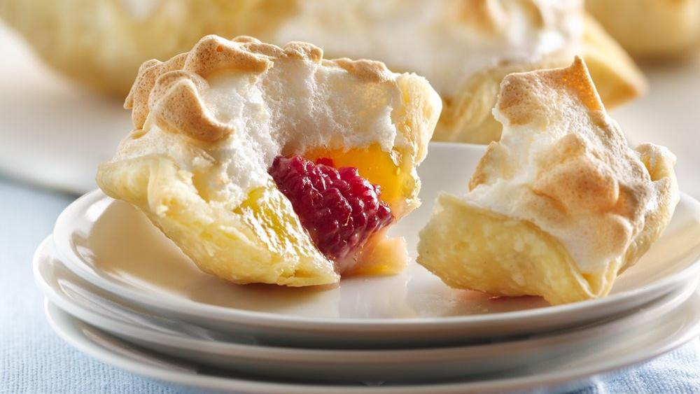Mile-High Lemon Meringue Mini Pies recipe from Pillsbury.com