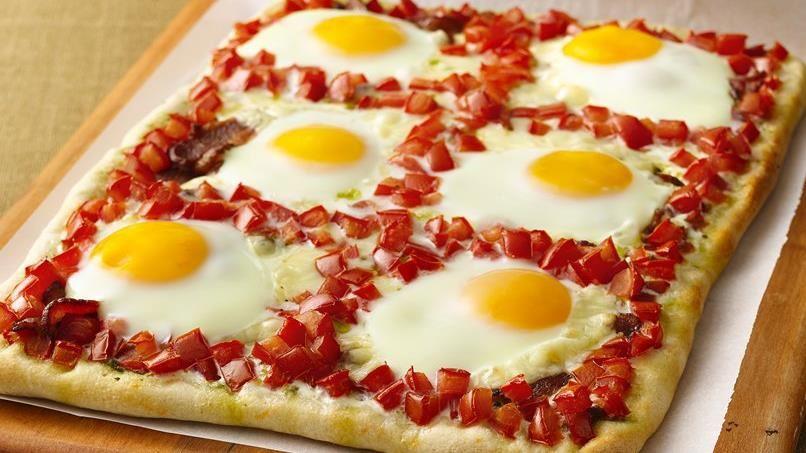 Savory Breakfast Pizza