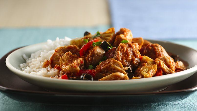 Slow-Cooker Spanish Chicken
