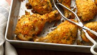 Crunchy Garlic Drumsticks