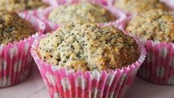 Poppy Seed and Yogurt Cupcakes