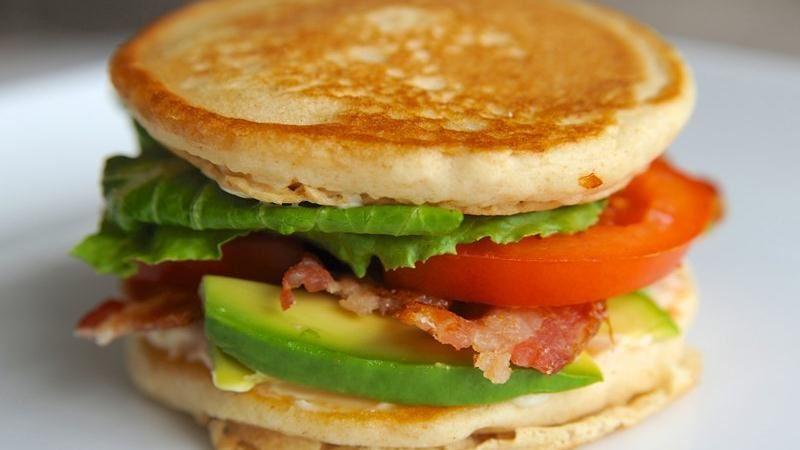 California BLT Pancake Sandwich