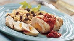 Grilled Cheddar-Stuffed Chicken Breasts