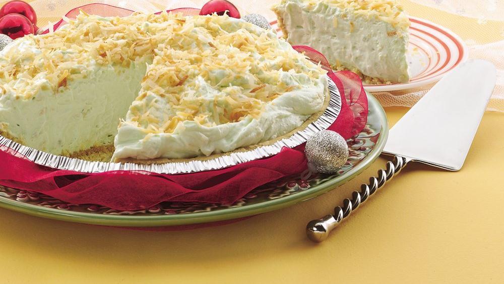 Pistachio-Coconut Pie