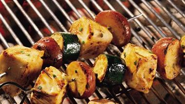 Halibut Kabobs