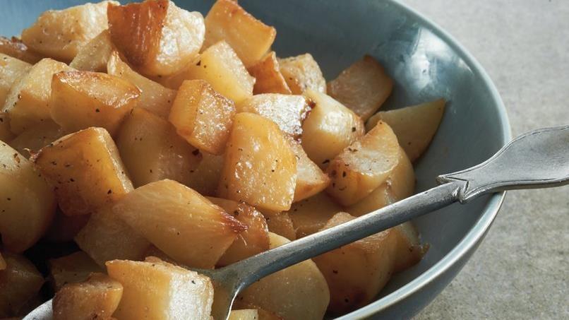 Caramelized Turnips