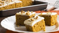 Harvest Pumpkin-Spice Bars