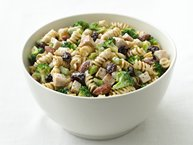 Skinny Turkey-Pasta Salad