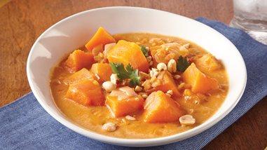 Butternut Squash-Lentil Stew
