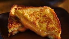 Inside-Out Double Grilled Cheese