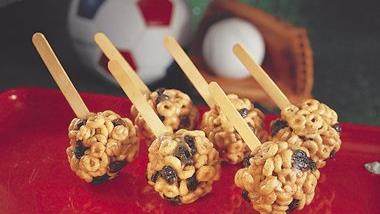 Trail Mix on Sticks