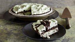 Mint Chocolate Chip Ice-Cream Pie
