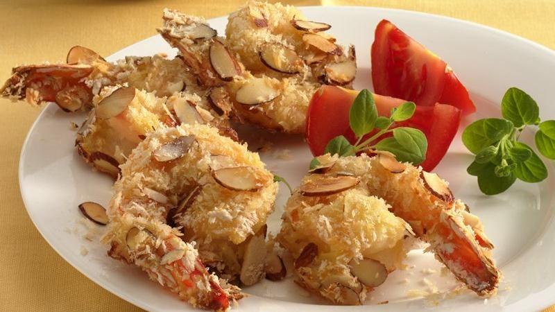 Almond-Crusted Shrimp