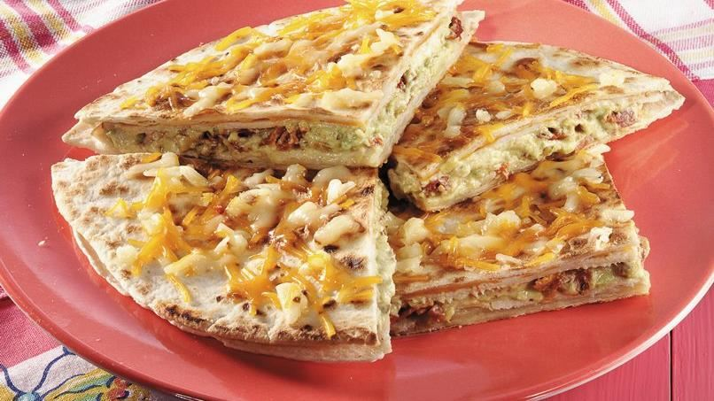 Smoked Turkey Quesadillas