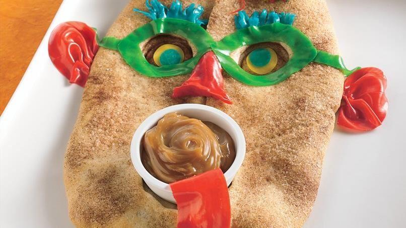 Halloween Mask Bread