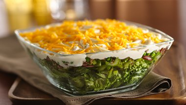 Skinny Seven-Layer Salad