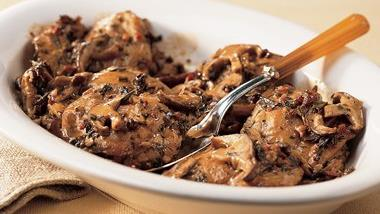 Chicken with Savory Sauce