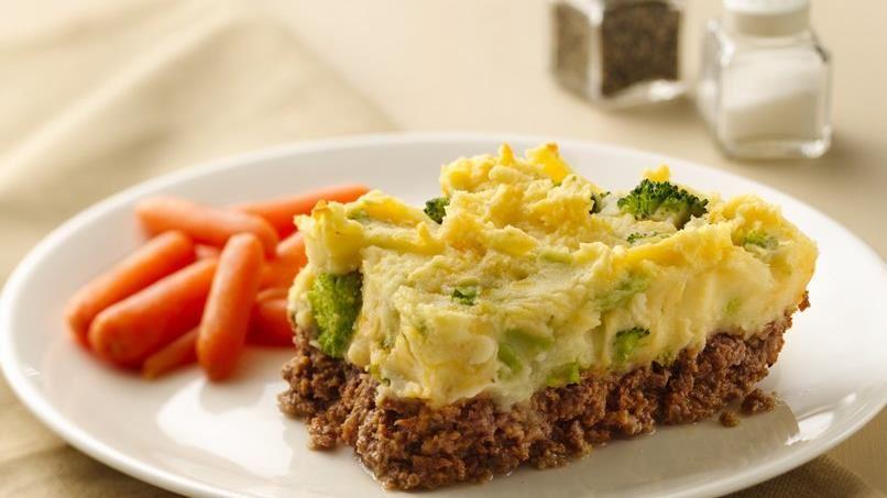 Potato-Topped Meatloaf Casserole