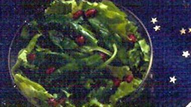 Pomegranate and Greens Salad