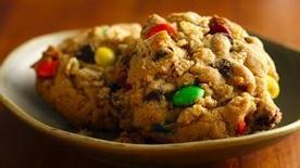 Gluten-Free Easy Monster Cookies