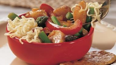 Sea Scallop Stir-Fry