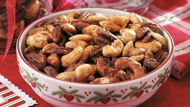 Holiday Spiced Nuts