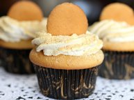 Banana-Cream-Pie Cupcakes