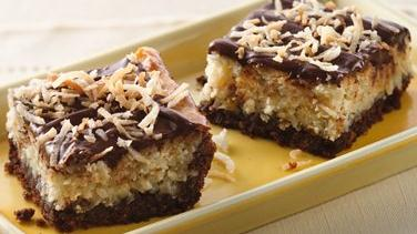 Chocolate-Hazelnut-Coconut Bars
