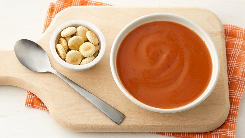 Creamy Tomato-Carrot Soup