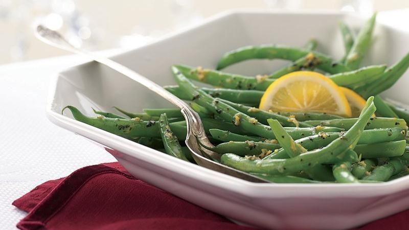 Green Beans with Lemon-Herb Butter