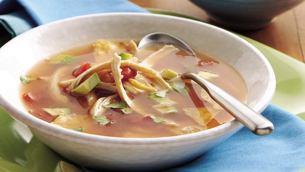 Chicken Tortilla Soup (Cooking for Two)