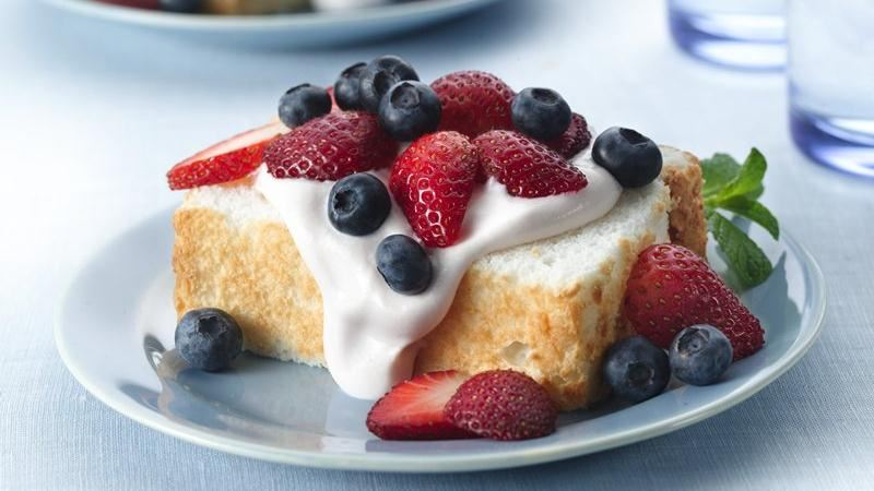 Angel Food Cake Strawberry Topping Recipe