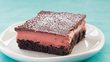 Gluten Free Strawberry Truffle Brownies