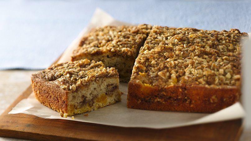 Mango-Almond Coffee Cake