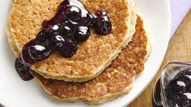 Whole Wheat Quinoa Pancakes