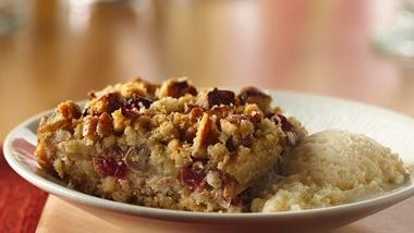 Easy Apple-Cranberry Dessert Squares