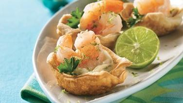 Spicy Shrimp Cups