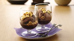 Chocolate Affogato with Dulce de Leche Topping