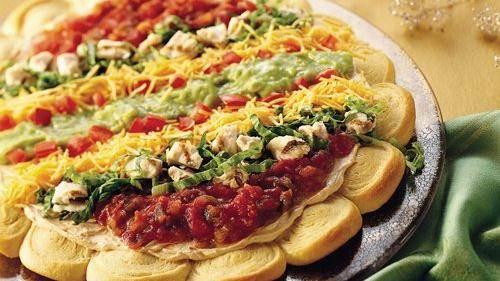Slow-Cooker Spicy Chicken Nachos recipe from Betty Crocker
