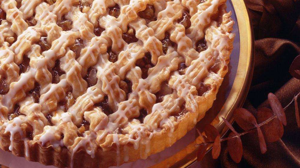 Apple Nut Lattice Tart