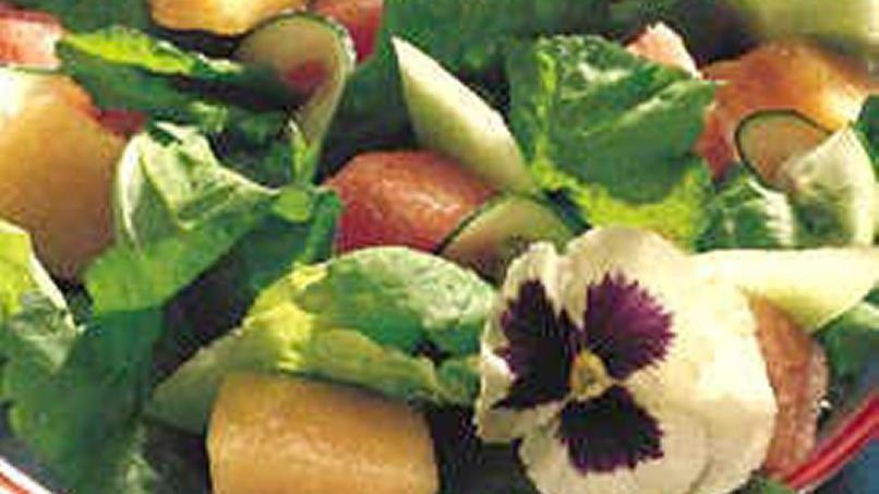 Melon-Cucumber Salad