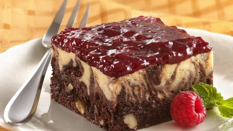 Marbled Cheesecake Brownie Dessert recipe from Betty Crocker