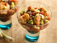 Ceviche-Style Shrimp Cocktail